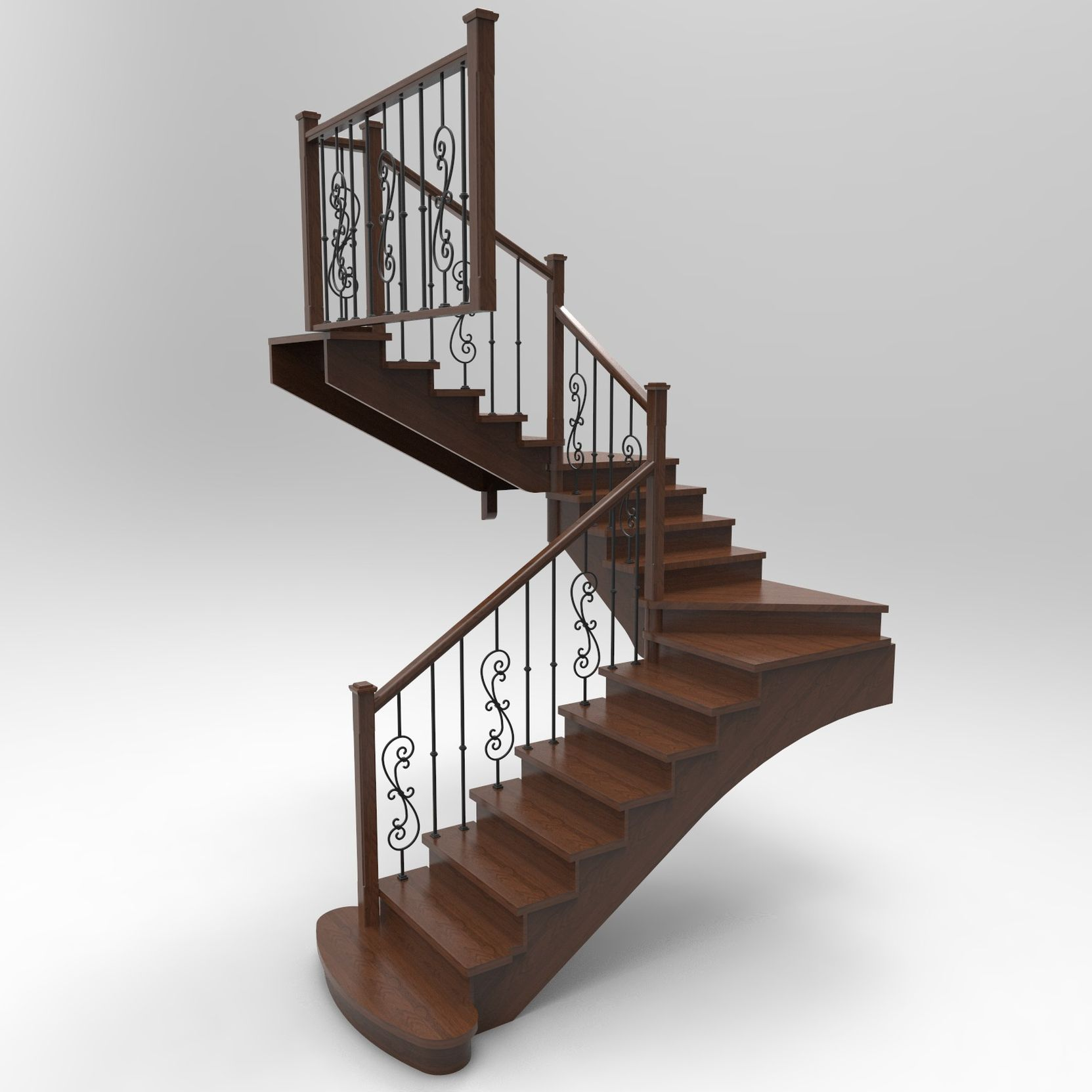Дизайн лестниц в Севастополе и в Ялте
